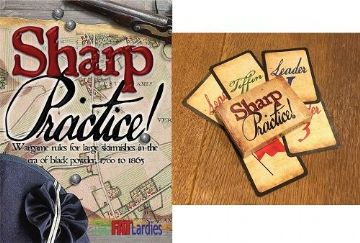 Sharp Practice II skirmish rules with Card Deck